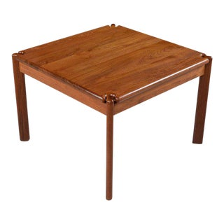 Danish Modern Tarm Stole Solid Teak End Table For Sale