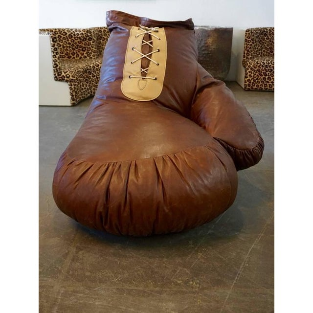 Brown De Sede Boxing Glove Chair For Sale - Image 8 of 9
