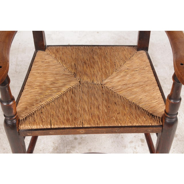 Antique Elizabethan-Style Spindle Chairs - A Pair - Image 5 of 11