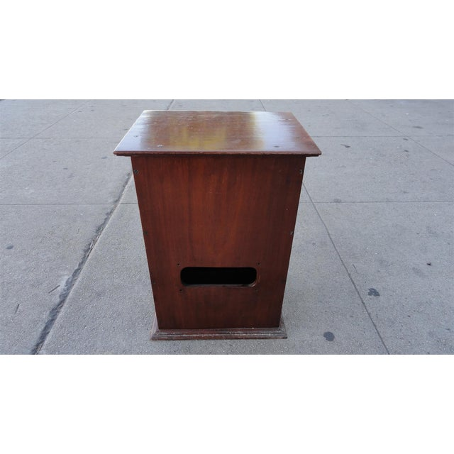 Gecophone Solid Mahogany Small Cabinet - Image 7 of 8