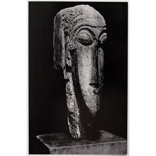 1958 Amedeo Modigliani, Photogravure of Stone Head Preview