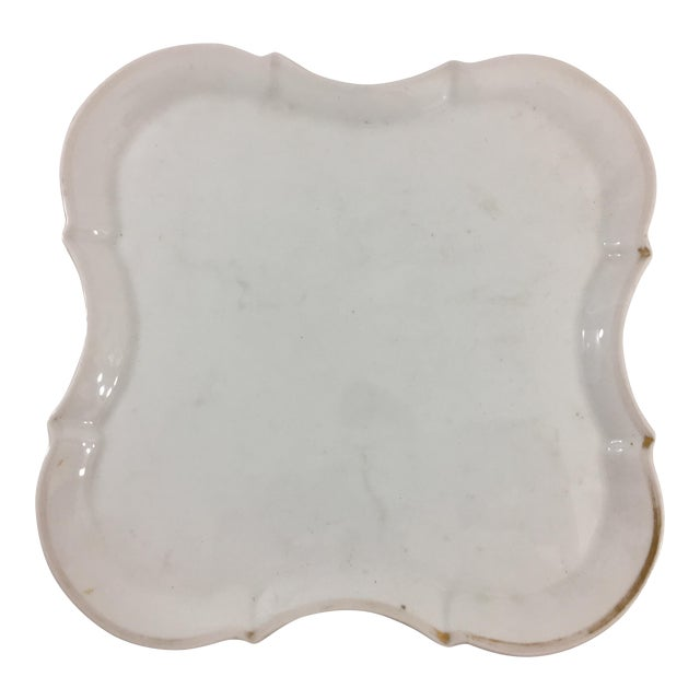 Old Paris Ogee Form Platter For Sale