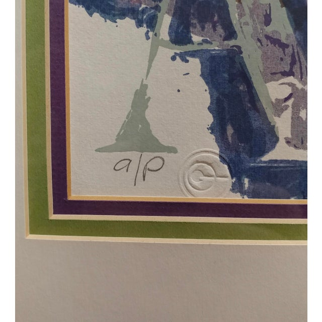 Leroy Neiman -Al Capone-Limited Edition Serigraph-Pencil Signed - Image 5 of 10