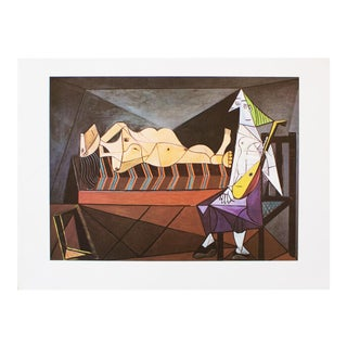 "1971 Picasso, ""Serenade"" Period Parisian Photogravure For Sale"