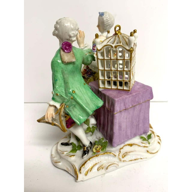 19th Century Meissen Birdcage Grouping For Sale - Image 10 of 12
