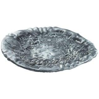 Donald Drumm Cast Aluminum Platter For Sale