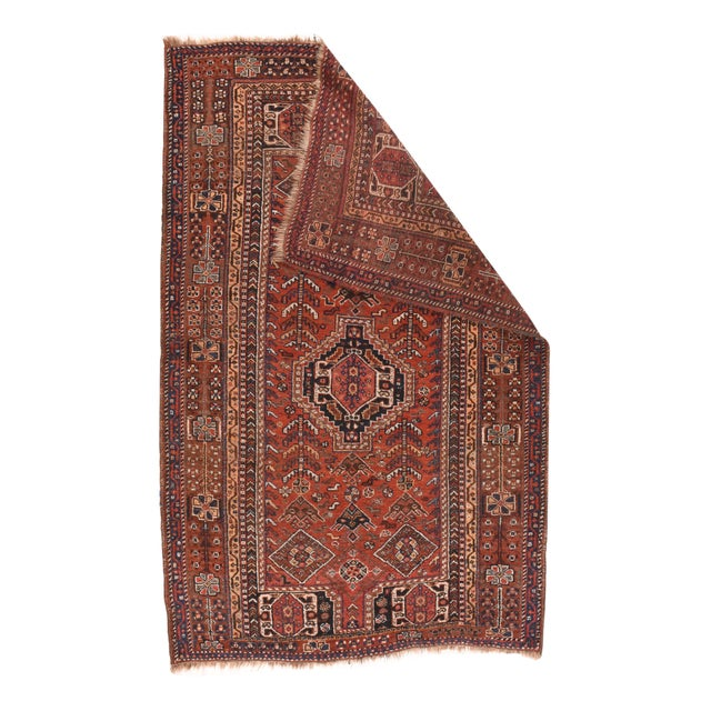 Fine Antique Persian Shiraz Tribal 4'9'' x 7'5''
