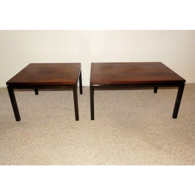 Harvey Probber Rosewood Cocktail Tables - A Pair For Sale - Image 13 of 13