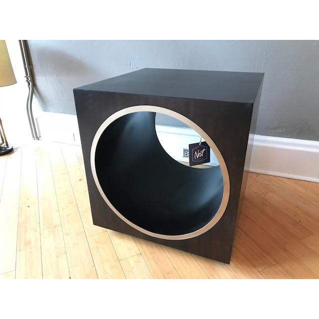 2010s Bernhardt Conlan Cube Side Table For Sale - Image 5 of 5