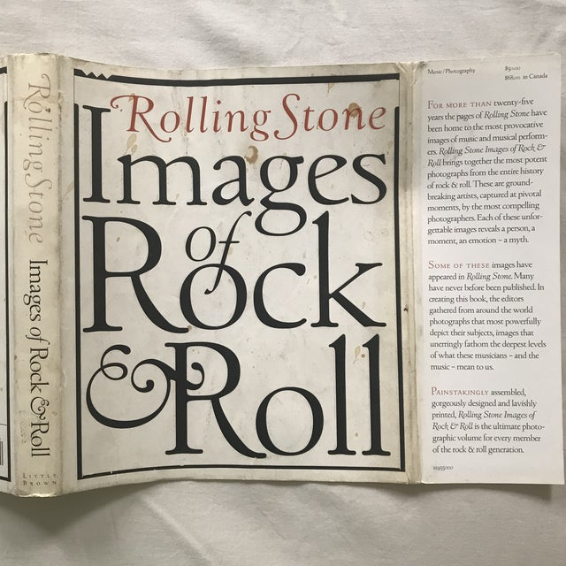 """1990s """"Rolling Stone Images of Rock & Roll"""" 1995 First Edition Book For Sale - Image 5 of 6"""