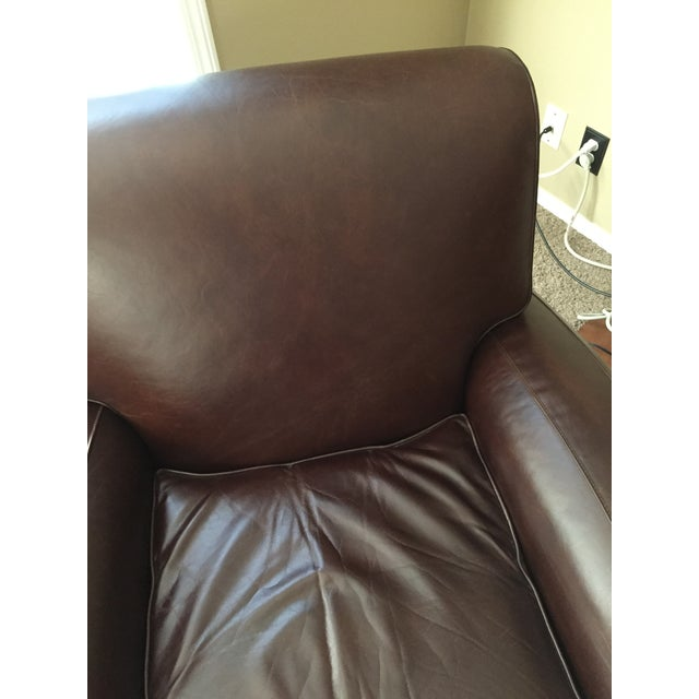 Pottery Barn Manhattan Leather Recliner - Image 7 of 8