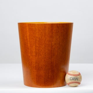Rainbow Wood Products Teak Wastebasket by Martin Åberg Preview