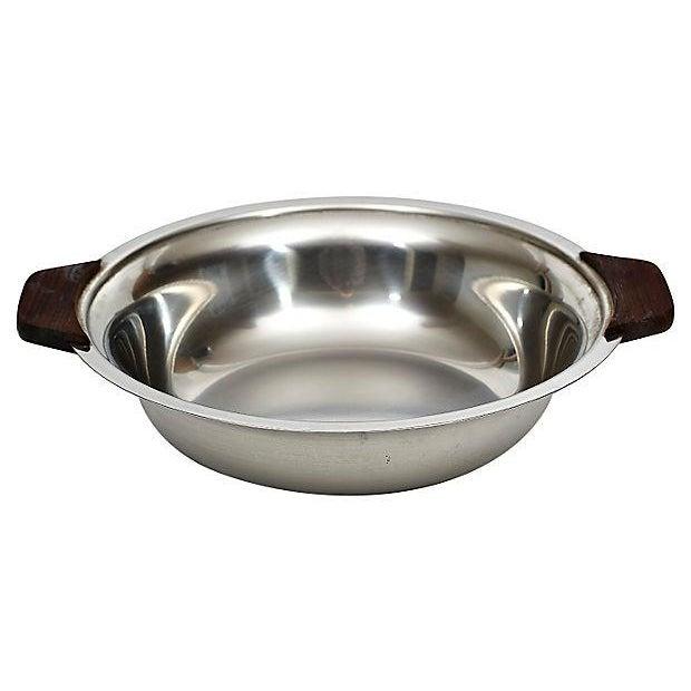 Danish Lundtofte Stainless Bowl - Image 1 of 4