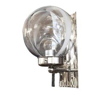 Toni Zuccheri Membrana Murano Glass Sconces (6 Available) For Sale