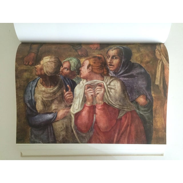 """""""The Complete Work of Michelangelo """" Slip Case Box Monumental Xtra Large Collector Vintage 1965 1st Edtn Book For Sale - Image 11 of 11"""