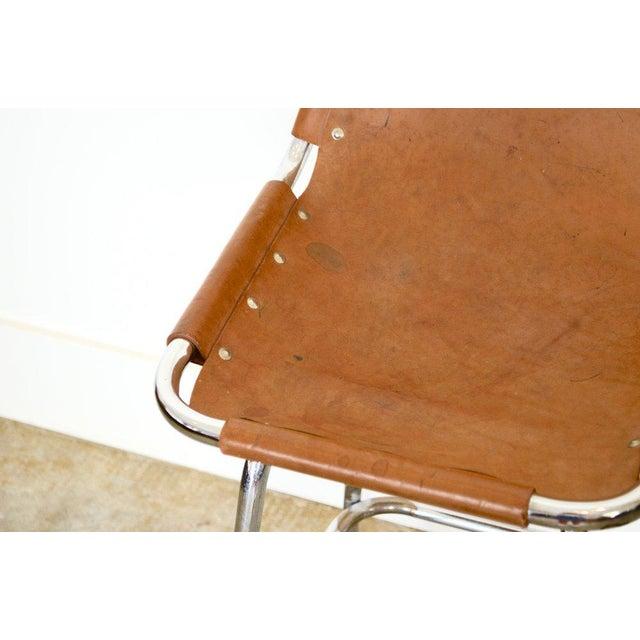 Charlotte Perriand attributed high bar stool designed for Les Arcs Ski Resort c. 1960.