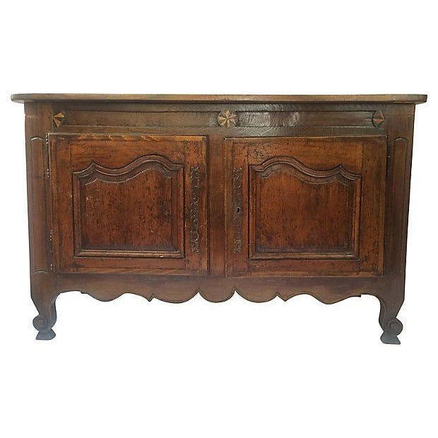 19th Century French Inlaid Buffet - Image 1 of 5