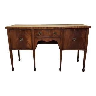 Antique Mahogany George III Sideboard