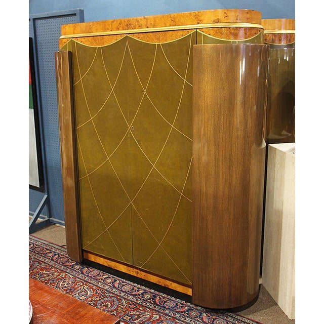 Leavitt Weaver Art Deco Wardrobes, 2 Available For Sale - Image 4 of 8