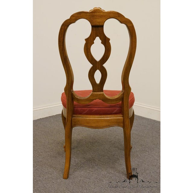 Late 20th Century Vintage Thomasville Furniture Camille Collection Dining Chair For Sale In Kansas City - Image 6 of 10