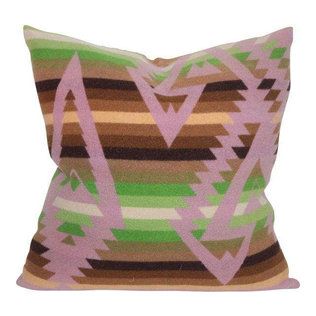 Pendleton Plaid Pillow For Sale