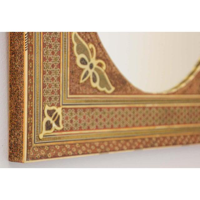 1940s Middle Eastern Moorish-Style Sadeli Mosaic Mirror For Sale - Image 5 of 13