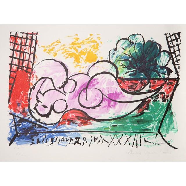 "Pablo Picasso ""Femme Endormie"" Lithograph - Image 1 of 2"