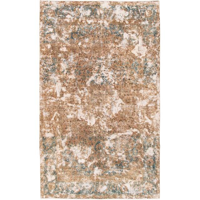 Vintage Wool Tabriz Rug For Sale