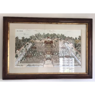 Chinoiserie Framed Prints - a Pair Preview