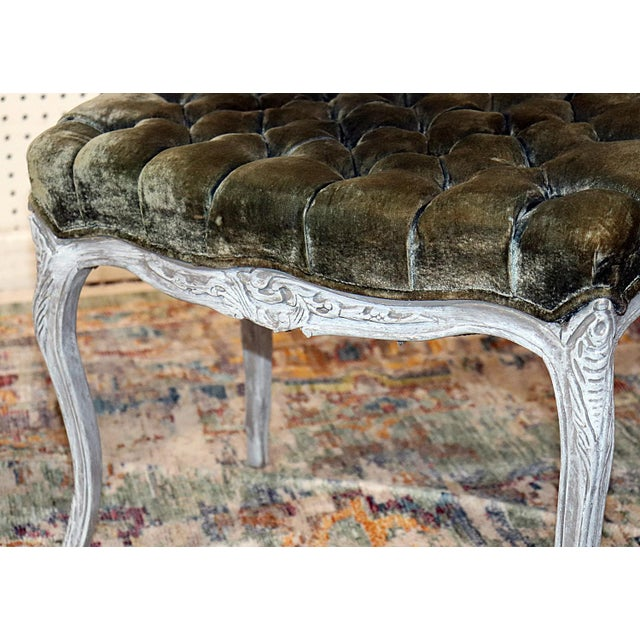 Vintage Louis XV Style Stools - a Pair For Sale - Image 10 of 11