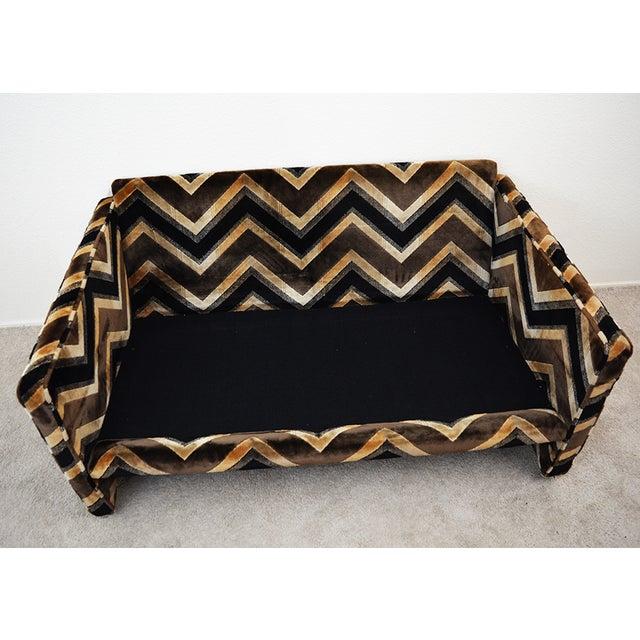 Mid 20th Century Mid Century Milo Baughman Style Case Sofa For Sale - Image 5 of 13