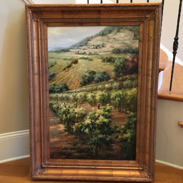 "Mayflower ""Vineyards"" Oil Painting - Image 2 of 4"