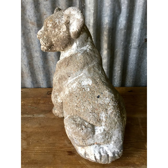 Vintage Concrete Tiger Cub - Image 4 of 7