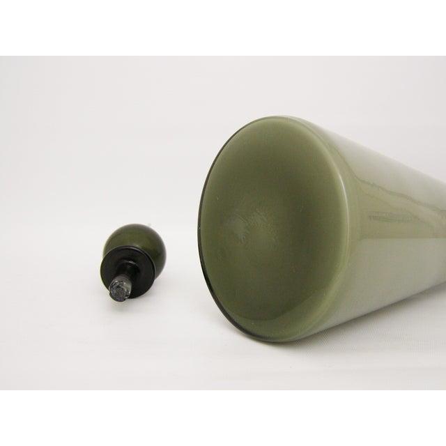 Italian Murano Glass Gray Cased Decanter - Image 8 of 10