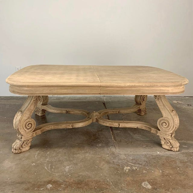 Antique Louis XIV Stripped Parquet Coffee Table For Sale - Image 13 of 13