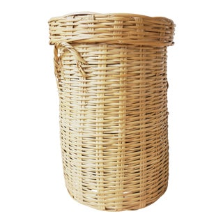 Vintage Wicker Storage Basket