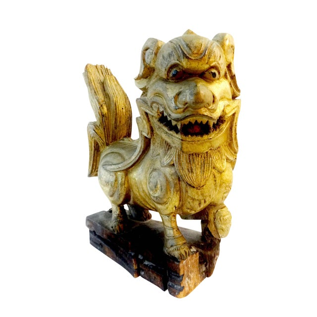 Antique Statue of Temple / Foo Dog For Sale