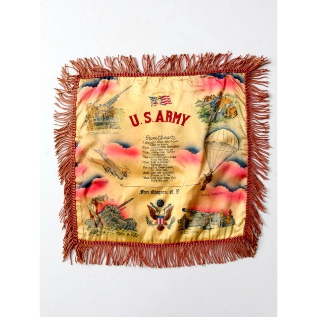 1940s US Army Souvenir Pillowcase - Image 6 of 7