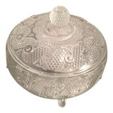 Image of Vintage Lidded Candy Dish For Sale