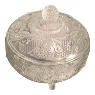 Vintage Lidded Candy Dish For Sale