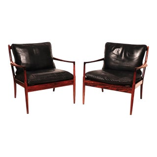"""Vintage Danish Mid-Century """"Samso"""" Lounge Chairs - a Pair For Sale"""