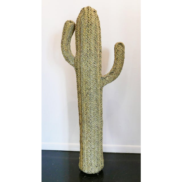 Handwoven Cactus From Morocco For Sale In Palm Springs - Image 6 of 6