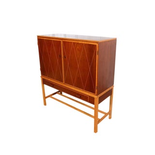 Carl Axel Acking for A.B. Nordiska Kompaniet Danish Modern Gentlemans Chest For Sale