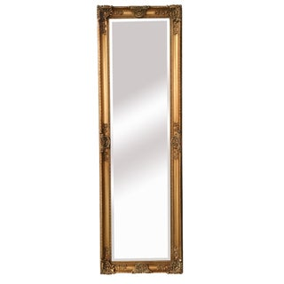 Mayfair Belle Vintage Antique Gold Full Length Mirror For Sale