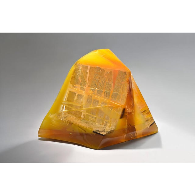 "2000 - 2009 Unique Sculpture by Monique Rozanès - ""Pyramide Du Soleil"" For Sale - Image 5 of 5"