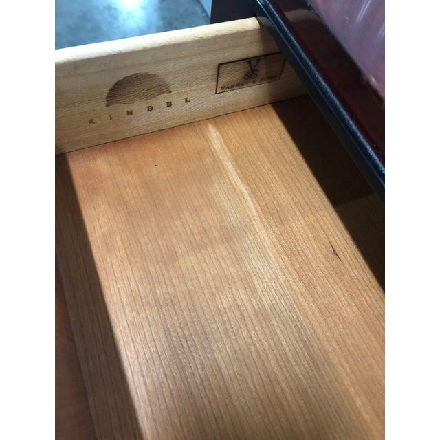 Kindel Furniture Dorothy Draper Kindel Furniture Chinoiserie Dressing Table For Sale - Image 4 of 13