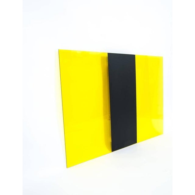 Yellow Johanna Grawunder for Memphis four Large Light Objects wall lights, 1989 For Sale - Image 8 of 10