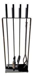 Image of Cast Iron Fireplace Tools and Sets