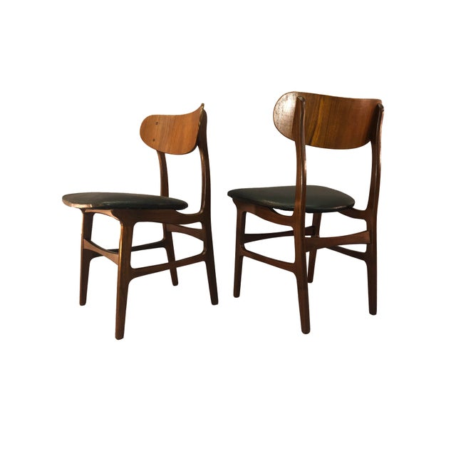 Danish Teak Round Back Dining Chairs - Set of 6 For Sale - Image 9 of 13
