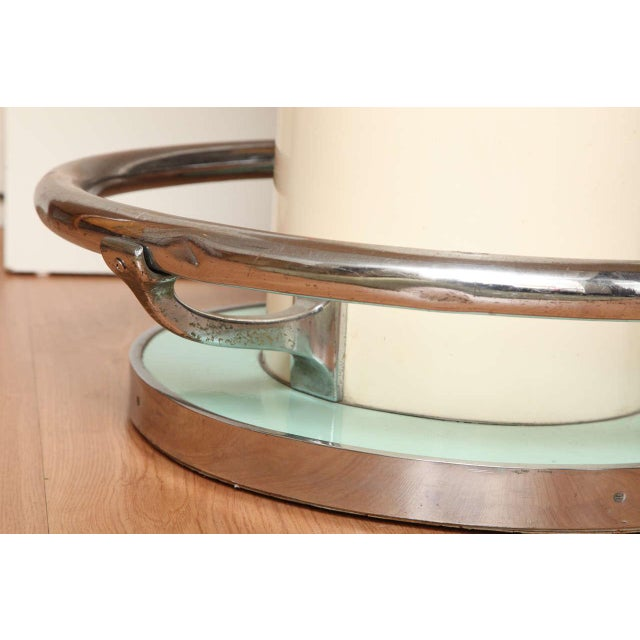 Early 21st Century Maison Leleu Modernist Round Table For Sale - Image 5 of 7